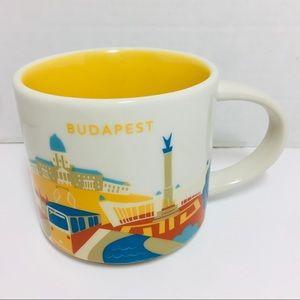 "2016 Starbucks ""You Are Here"" Budapest Mug"